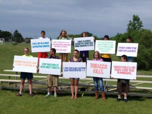 Stop Targeting Us by the Boys & Girls Club of DL and Perham