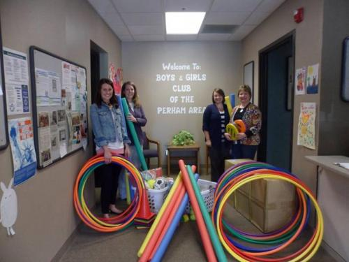 Active Recess Equipment at the Boys & Girls Club