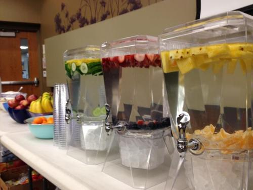 Demonstrating Healthy Snacks at Events