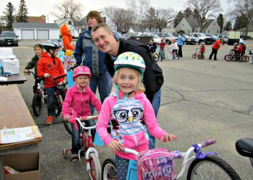 Perham bike rodeo