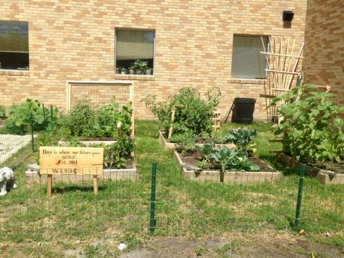 """""""Here is where our future grows."""" WCR Juvenile Center"""