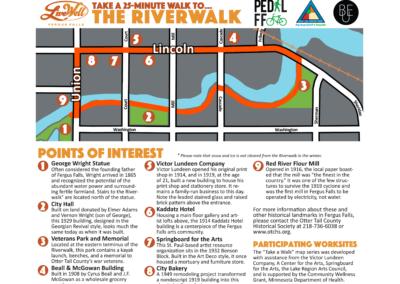 Riverwalk 25 minute walk