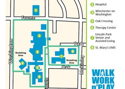 Detroit Lakes walking map 4