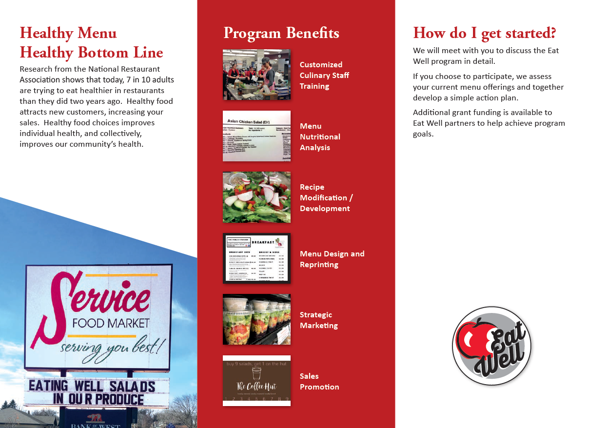 eat well brochure page 2
